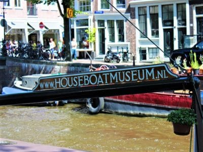 Amsterdam Houseboat Museum Prinsengracht Canal