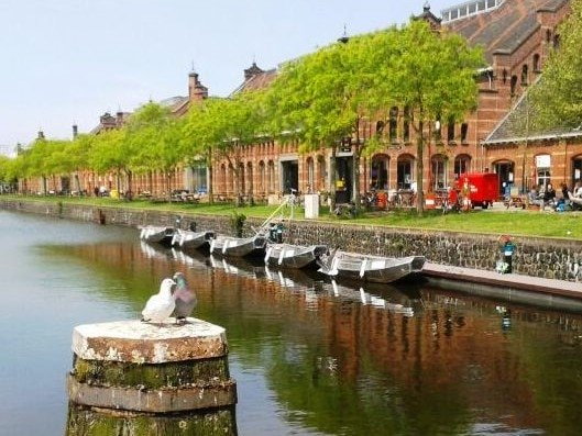 Amsterdam Westerpark Boat Hire at Boats4rent