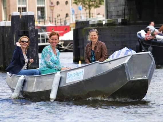Voordelig bootje sloep huren in Amsterdam bij Boats4rent