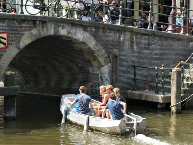 Fluisterboot Huren Amsterdamse Grachten Boats4rent