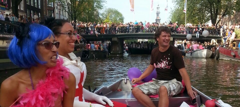 Rent Boat Amsterdam Canals Events Kingsday Gay Pride