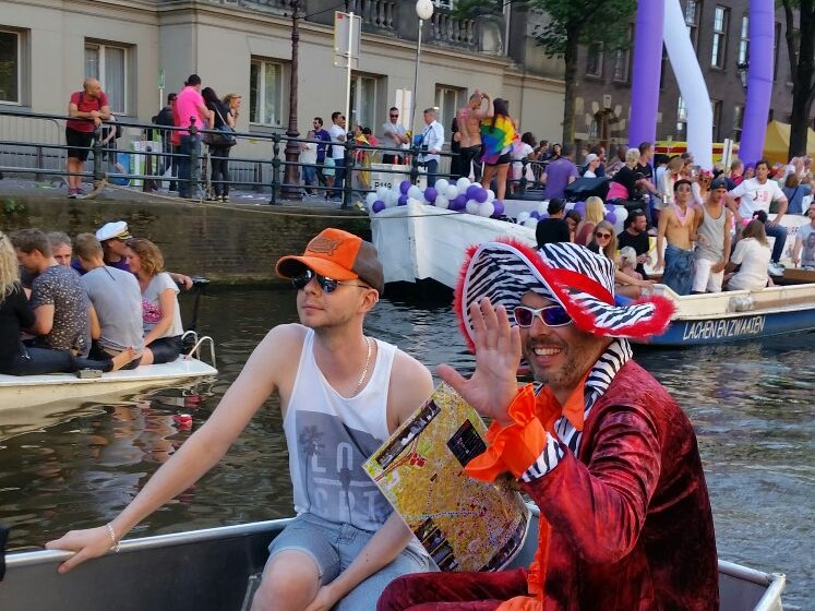 Rent Boat Amsterdam Gay Pride Canal Parade Boats4rent
