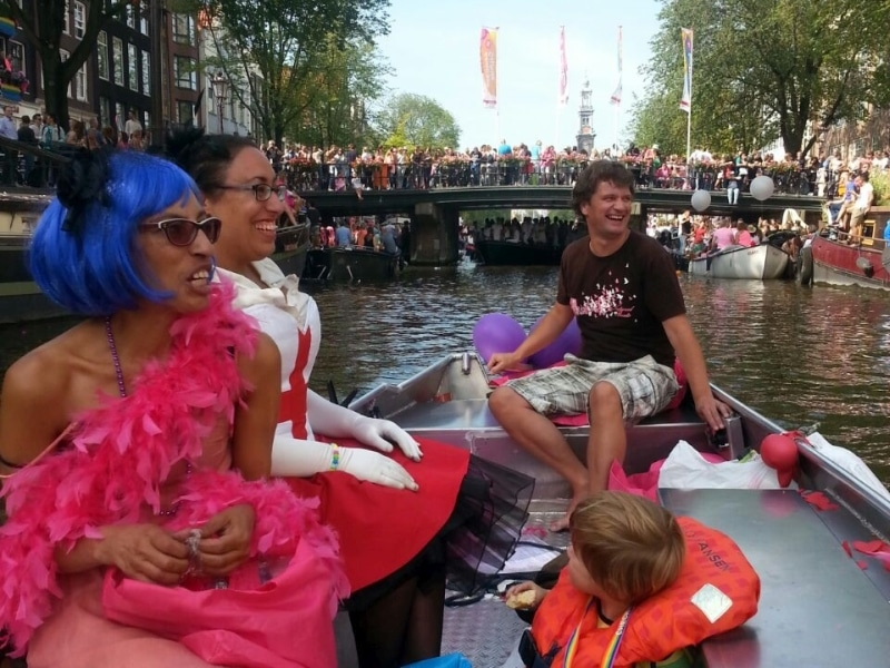 Rent Boat Amsterdam Kingsday Gay Pride