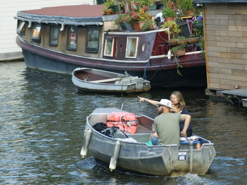 Amsterdam Rent a Canal Boat Boats4rent