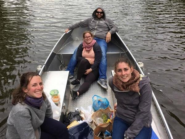 Boot mieten Grachtenfahrt Amsterdam Boats4rent Bootsverleih