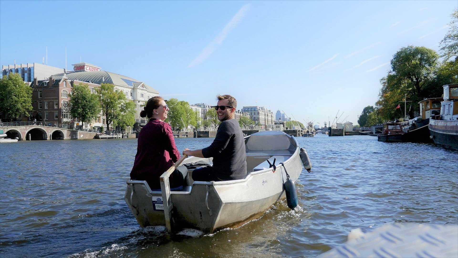 Bootje sloep huren Amsterdam bij Boats4rent