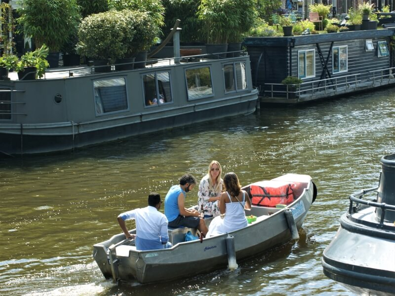 Bootsverleih Amsterdam Grachtenfahrt Boats4rent