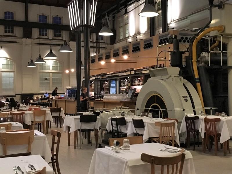 Cafe Restaurant Amsterdam Westerpark after Boat Rental Boats4rent