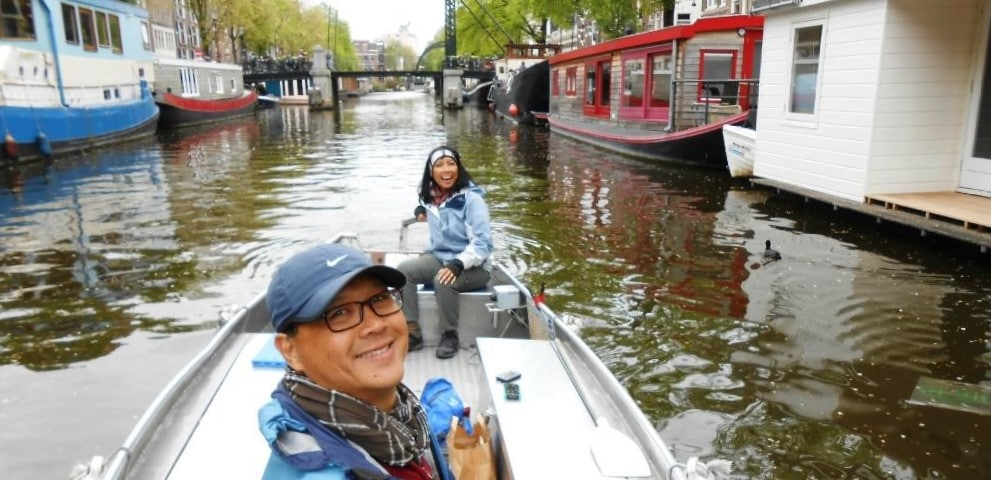 Rent private boat Amsterdam Boats4rent